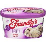 Friendly's Fudge Swirl Light Ice Cream