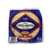 Meijer Thin Oven Baked Pizza Crusts