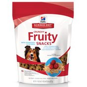 Hill's Science Diet Dog Treats, Natural, Crunchy Fruity Snacks, with Cranberries & Oatmeal