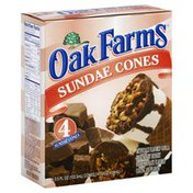 Oak Farms Sundae Cones