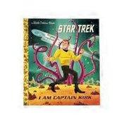 Golden Books Star Trek I Am Captain Kirk Hardcover Book