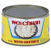 Wei Chuan Water Chestnuts, Sliced