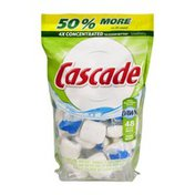 Cascade Dishwasher Detergent Pacs Fresh Scent - 48 CT