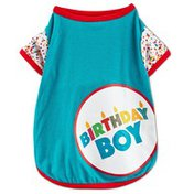 You & Me Medium Birthday Boy Pet Shirt