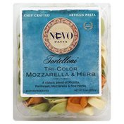 Nuovo Pasta Tortelloni, Tri-Color, Mozzarella & Herb