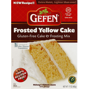 Gefen Cake & Frosting Mix, Gluten-Free, Frosted Yellow Cake
