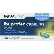 Equaline Ibuprofen, 200 mg, Capsules