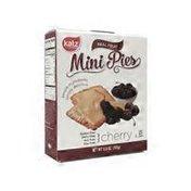 Katz Cherry Real Fruit Mini Pies