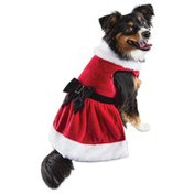 Holiday Tails Extra Extra Large Mrs. Claus Costume