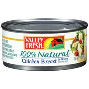 Valley Fresh 100% Natural Chicken Breast in Water