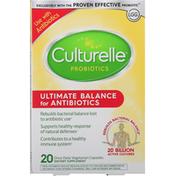 Culturelle Probiotics, Ultimate Balance for Antibiotics, Vegetarian Capsules