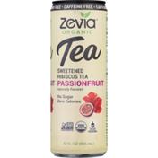 Zevia Organic Caffeine Free Passionfruit Sweetened Hibiscus Tea