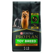 Purina Pro Plan Toy Breed Dog Food With Probiotics for Dogs, Chicken & Rice Formula