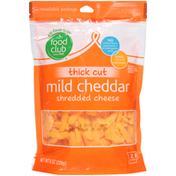 Food Club Mild Cheddar Thick Cut Shredded Cheese