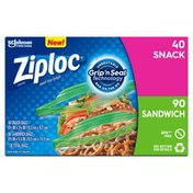 Ziploc Snack and Sandwich Bags