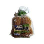 Kroger Hamburger Enriched Buns, Seasame