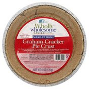 Wholly Wholesome Pie Crust, 9 Inch, Graham Cracker