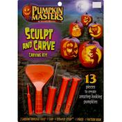 Pumpkin Masters Carving Kit, Sculpt and Carve