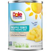 Dole Pineapple Tidbits in Pineapple Juice