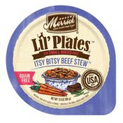 Merrick Lil' Plates Grain-Free Small Breed Itsy Bitsy Beef Stew Wet Dog Food