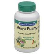 Nature's Answer Muira Puama, Bark, Vegetarian Capsules