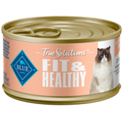 Blue Buffalo True Solutions Fit & Healthy Natural Weight Control Adult Wet Cat Food, Chicken
