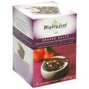 Mighty Leaf Black Tea, Orange Dulce