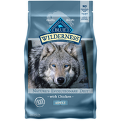 Blue Buffalo Wilderness High Protein, Natural Adult Dry Dog Food, Chicken