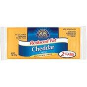 Crystal Farms Cheddar Reduced Fat Cheese