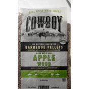 Cowboy Barbeque Pellets, Apple Wood