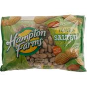 Hampton Farms Peanuts, Salted, Roasted, Jumbo