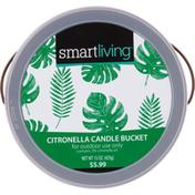 Smart Living Candle Bucket, Citronella