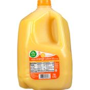 Food Club 100% Juice, Orange, Original, No Pulp