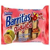 Marinela Fruit Bars, Guava Filled