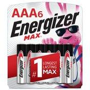 Energizer AAA Max Alkaline Batteries 6 Pack