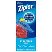 Ziploc Freezer Bags Quart