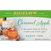 Bigelow Black Tea, Caramel Apple, Tea Bags