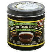 Better Than Bouillon Base, Better Than Boullion, Au Jus, Jar