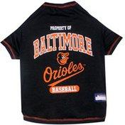 Pets First Medium MLB Baltimore Orioles Pet Tee Shirt