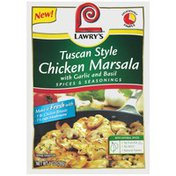 Lawry's Tuscan Style Chicken Marsala with Garlic and Basil Spices & Seasonings