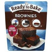 Ready To Bake Brownies, Liquid Batter