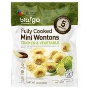Bibigo Wontons, Mini, Chicken & Vegetable