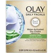 Olay Daily Facials Sensitive Cleansing Cloths