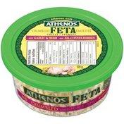 Athenos Crumbled Feta with Garlic & Herb Cheese