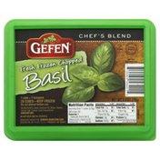 Gefen Basil, Fresh Frozen, Chopped