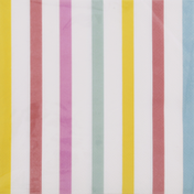 CR Gibson Lunch Napkins, Summer Stripe, 3-Ply