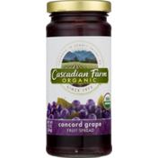 Cascadian Farm Organic Concord Grape Fruit Spread