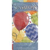 Sensations Dinner Napkins, Jubilant, 2-Ply