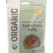 GoodSense Sunflower Nuts, Organic, Roasted, No Salt