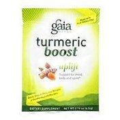 Gaia Herbs Turmeric Boost Uplift Dietary Suppelment